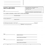 California Quit Claim Deed Form_Page_1