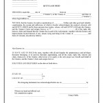Colorado Quit Claim Deed Form