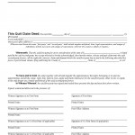 Florida Quit Claim Deed Form_Page_1