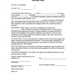 Georgia General Warranty Deed Form