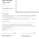Illinois Quit Claim Deed Form_Page_1
