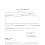 Ohio General Warranty Deed Form_Page_1