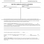 South Carolina Quit Claim Deed Form_Page_1
